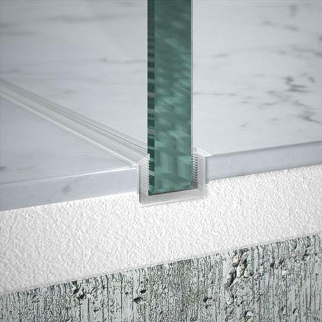 Merlyn - 10 Series Flush Floor Profile