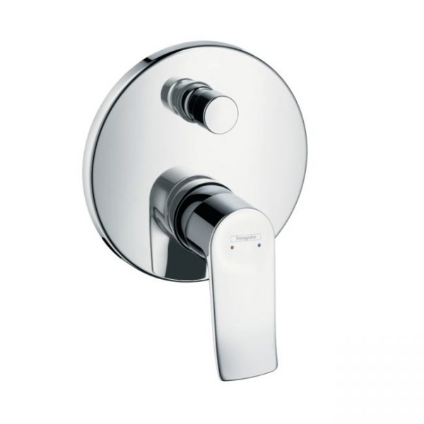 Hansgrohe - Metris Concealed Manual Bath / Shower Valve with Backflow Prevention