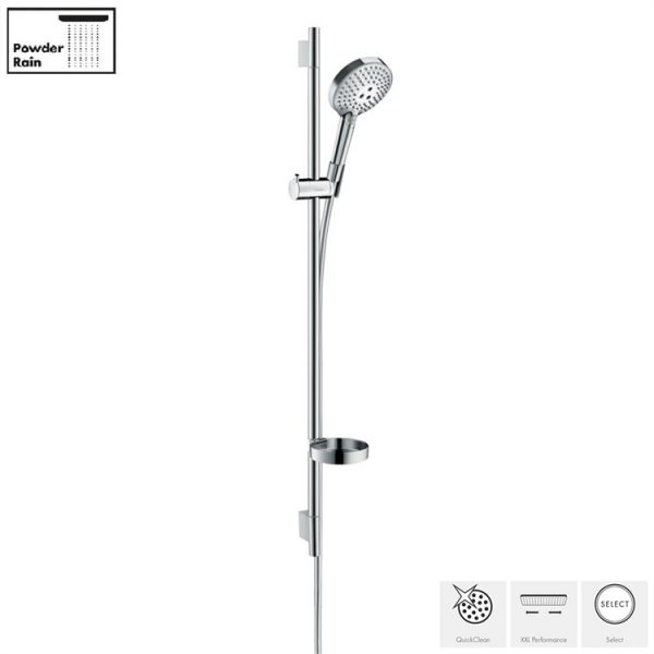 Hansgrohe - Raindance Select S 120 3 Jet PowderRain Shower Rail Kit