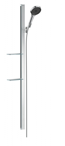 Hansgrohe - Rainfinity Shower Set 130 3Jet with Shower Bar and Soap Dish