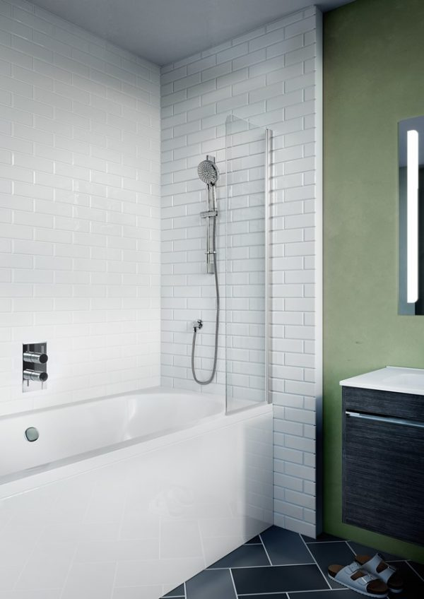 Kai 6 Single Mini Bath Screen