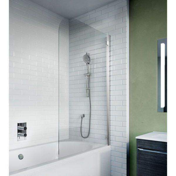 Kai 6 Single Curved Bath Screen