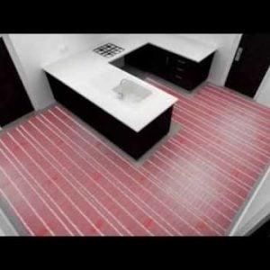 Warmup - Electric Underfloor Heating Sticky Mat Kit 200w
