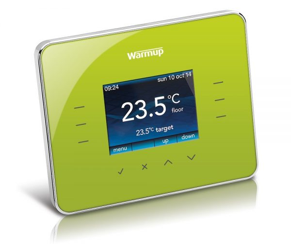 Warmup 3iE Thermostat - Leaf Green